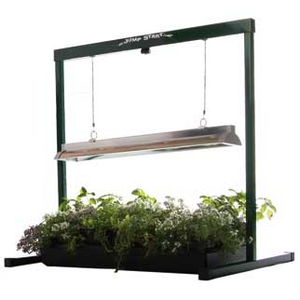 Jump Start High Output Grow Light – 4ft - Aquaponics For Life