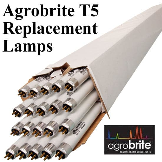 AgroBrite T5 Bulbs – 4 ft, case of 20 - Aquaponics For Life