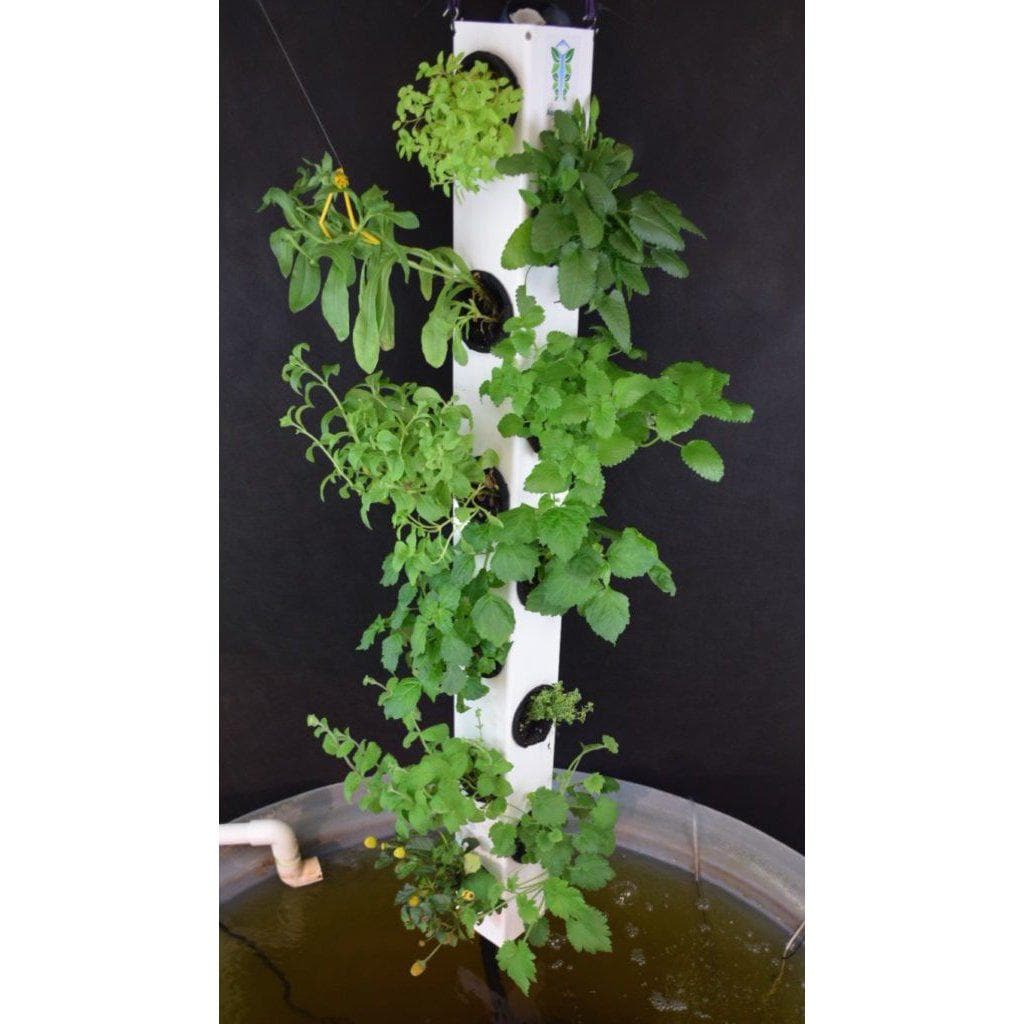 AquaVertica Tower – 4 ft. - Aquaponics For Life