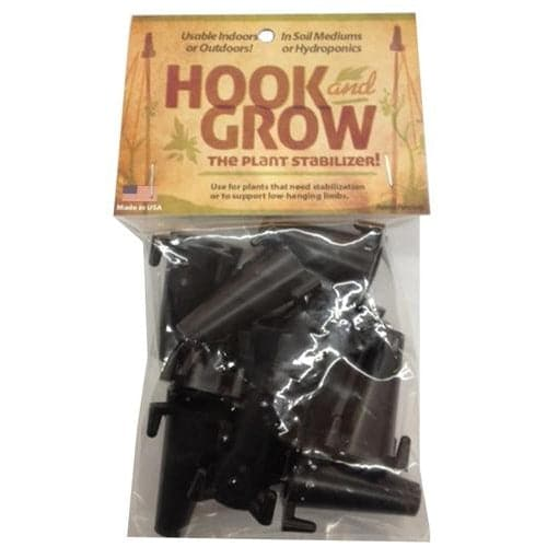 Hook 'n Grow Plant Stabilizer – 10 pack - Aquaponics For Life