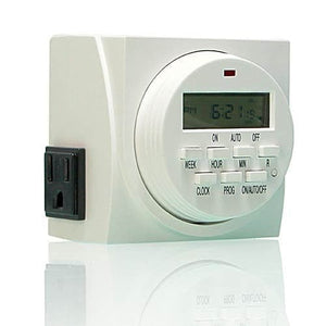 Dual Outlet 7-Day Programmable Timer - Aquaponics For Life