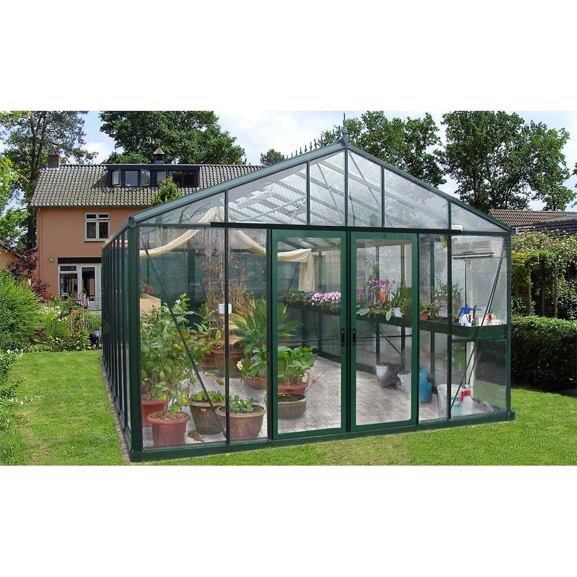 V146 Large Victorian Greenhouse - Aquaponics For Life