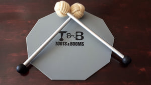 Pyro Tenor Mallets + Pad - Toots & Booms