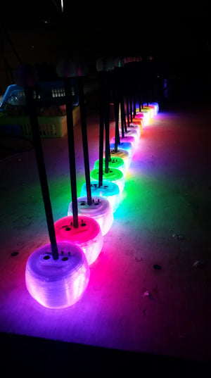 LED Percussion Mallets - Toots & Booms