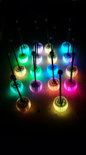 2020 Pre-Order LED Percussion Mallets - Toots & Booms