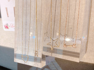 Delicate Solid Gold Necklaces