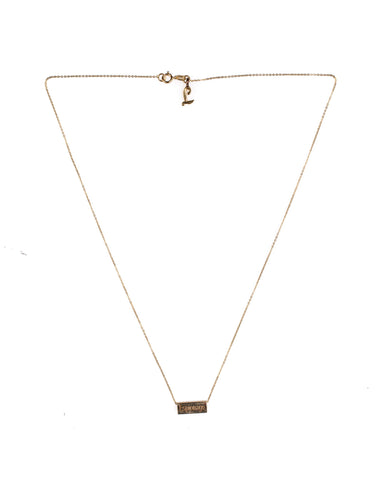 TIA ROSE GOLD NECKLACE