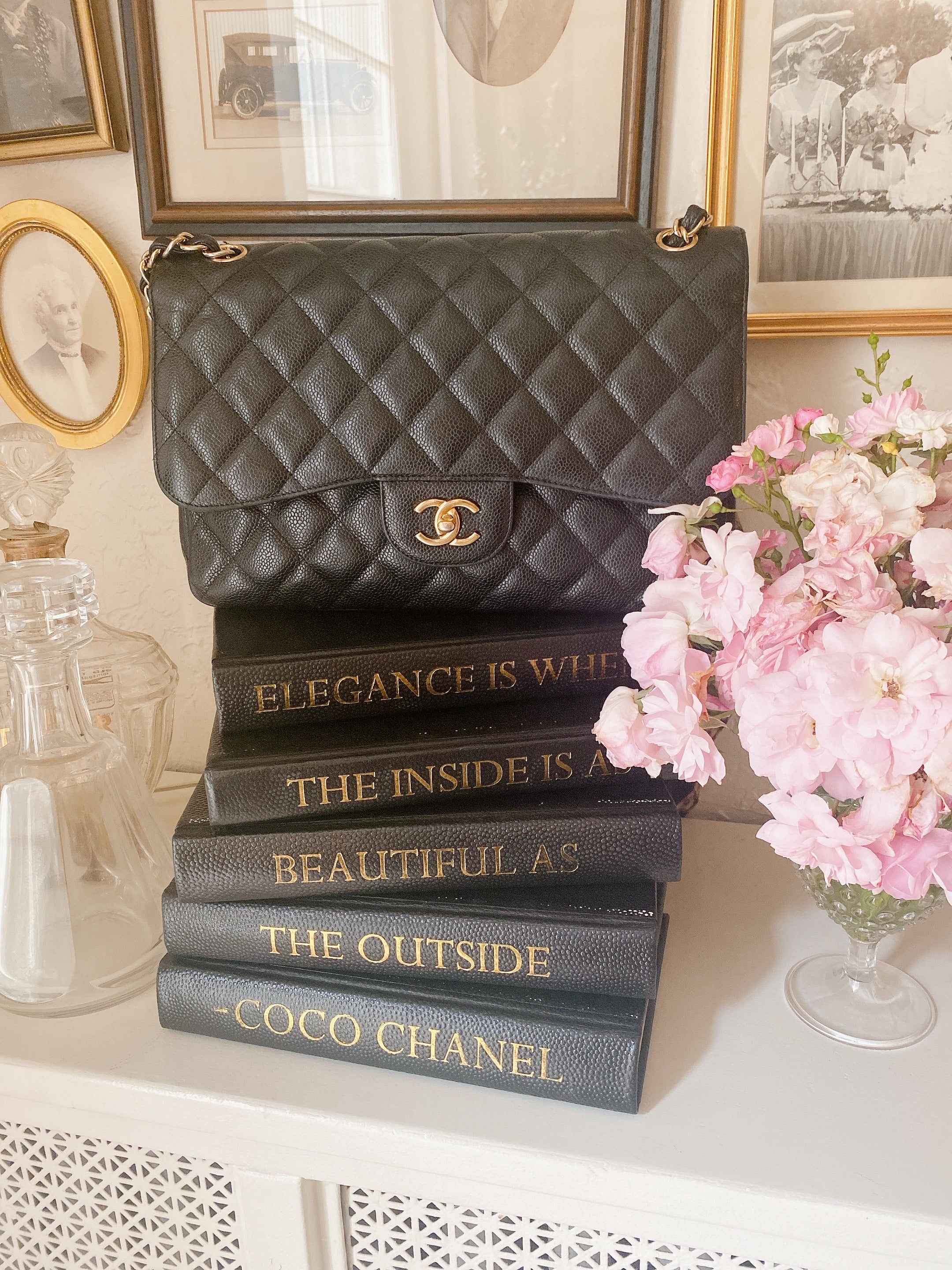 Luxury Book Stack