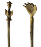 Brass Back Scratcher