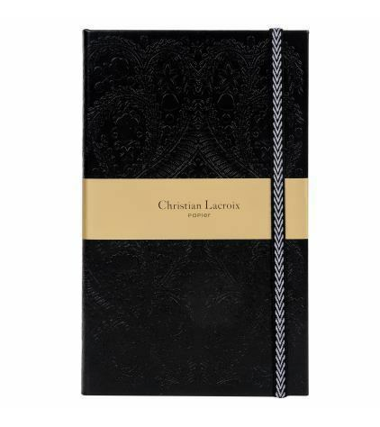 Christian Lacroix Black Paseo Journal