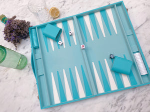 Tiffany Blue Backgammon