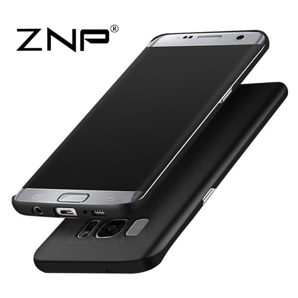 ZNP Luxury hard Matte Case for Samsung Galaxy S7 S6 S7 edge S6 Full Cover PC