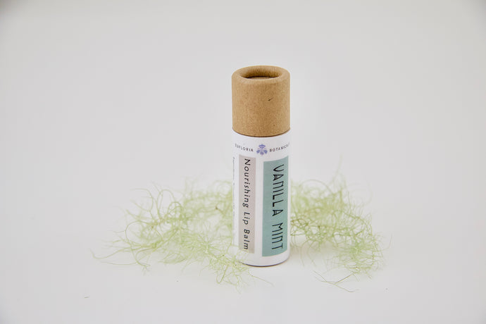 Vanilla + Mint Lip Balm