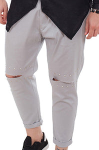 PANTALONI FASHION GREY