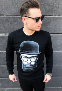 BLUZA BEARD BLACK