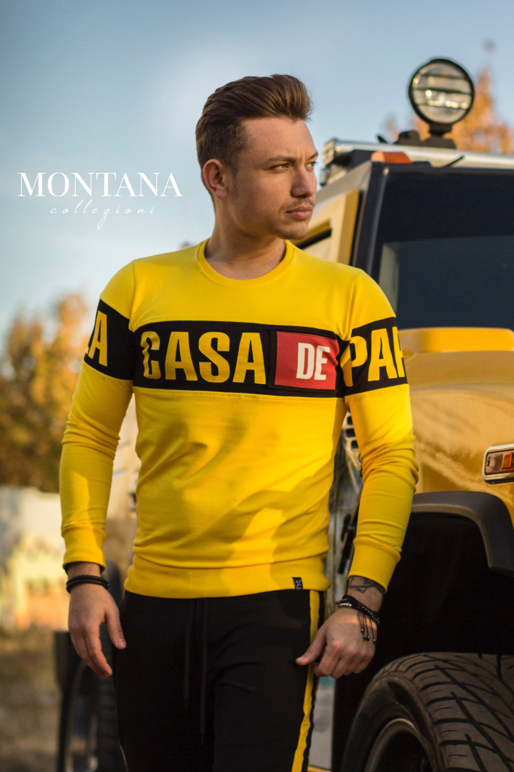Bluza Casa Yellow
