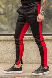 Pantaloni de trening MIX-Red