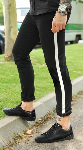 Pantaloni Casual Slim- LL Black