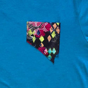 Home Means Nevada Shirt - Stardust Teal
