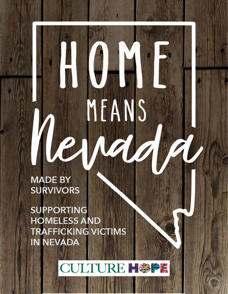 Home Means Nevada Shirt - Silver State Teal