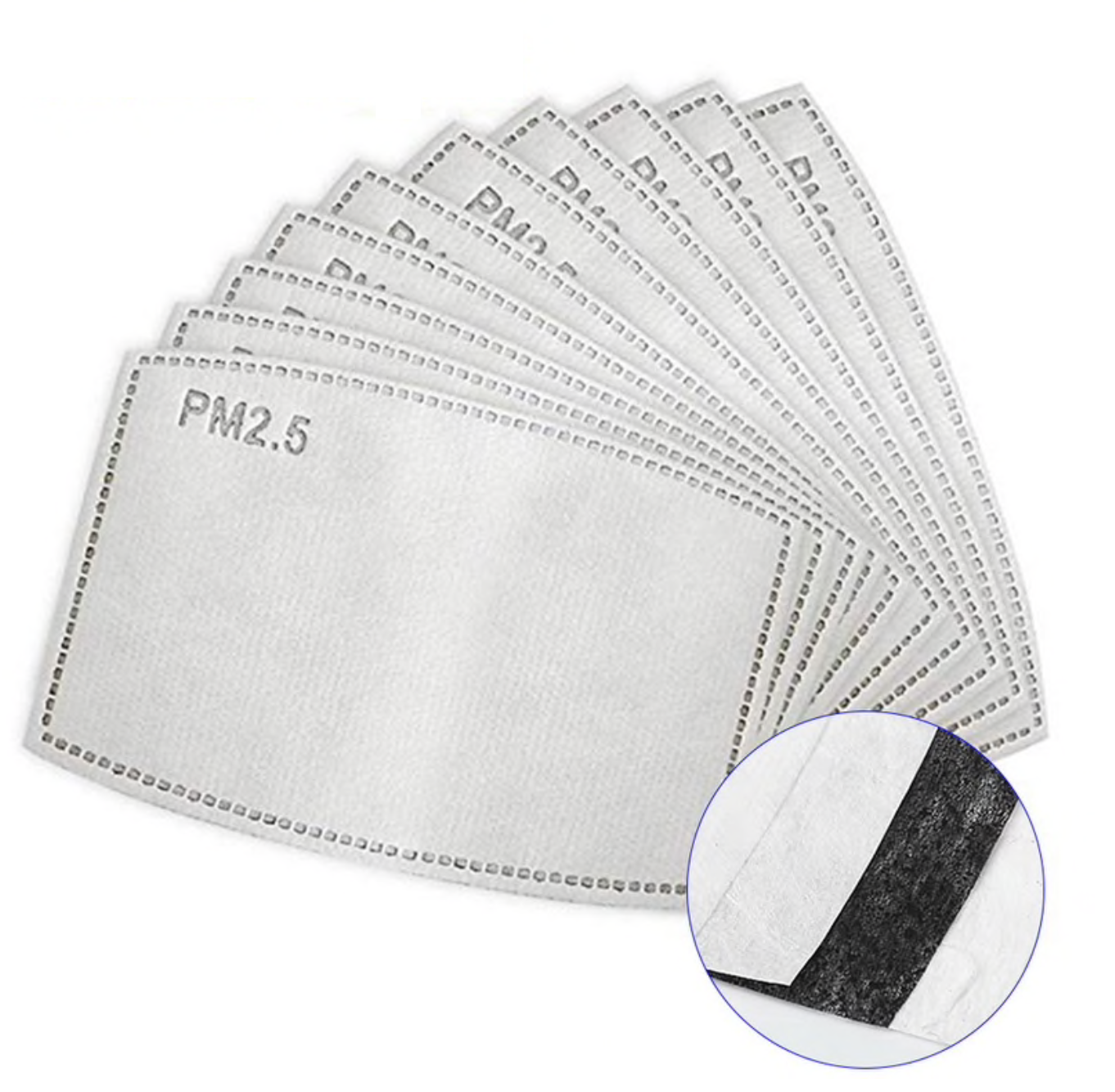 Face Mask • PM 2.5 Disposable Filter
