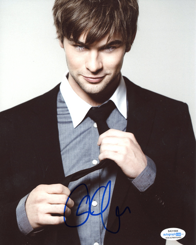Chace Crawford Gossip Girl Signed Autograph 8x10 Photo ACOA The Boys