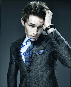 Eddie Redmayne Signed Autograph 8x10 Photo - Outlaw Hobbies Authentic Autographs