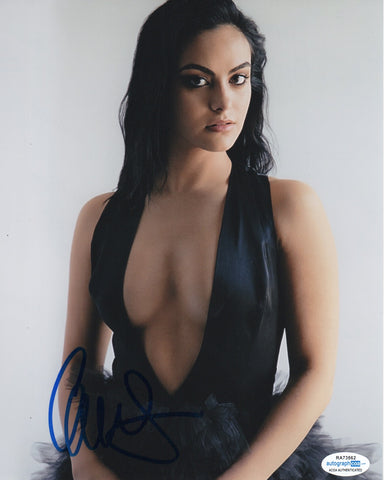 Camila Mendes Riverdale Signed Autograph 8x10 Photo ACOA #2 - Outlaw Hobbies Authentic Autographs
