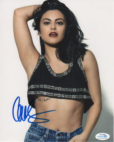 Camila Mendes Riverdale Signed Autograph 8x10 Photo ACOA #6 - Outlaw Hobbies Authentic Autographs