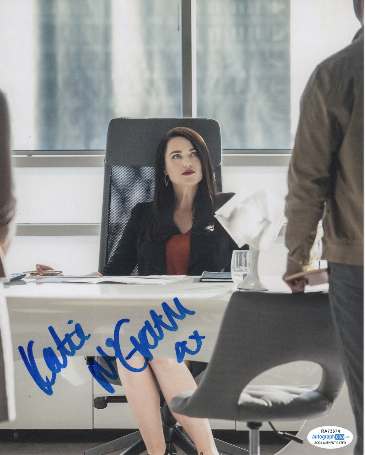 Katie McGrath Supergirl Signed Autograph 8x10 Photo ACOA #18