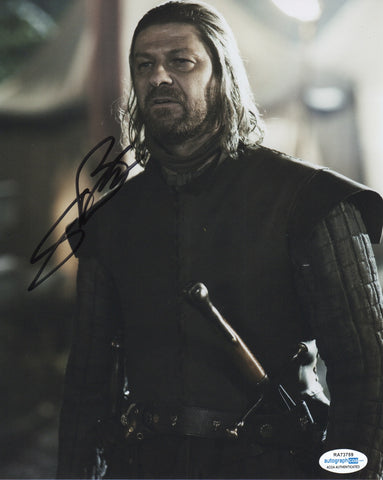 Sean Bean Game of Thrones Signed Autograph 8x10 Photo ACOA - Outlaw Hobbies Authentic Autographs