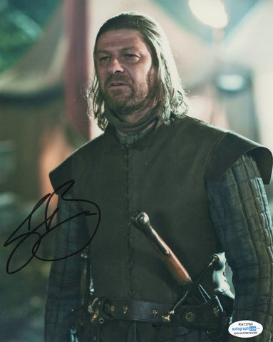 Sean Bean Game of Thrones Signed Autograph 8x10 Photo ACOA #2 - Outlaw Hobbies Authentic Autographs