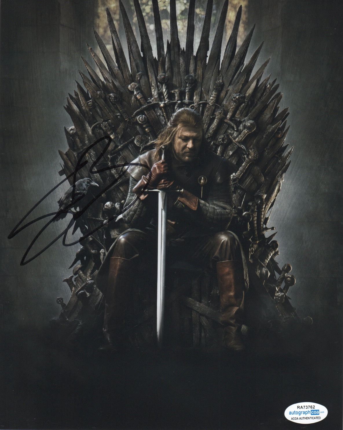 Sean Bean Game of Thrones Signed Autograph 8x10 Photo ACOA #3 - Outlaw Hobbies Authentic Autographs