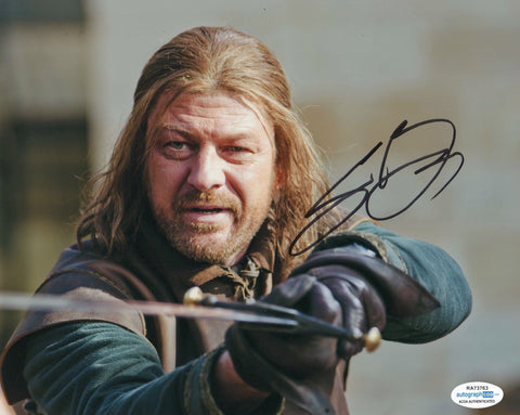 Sean Bean Game of Thrones Signed Autograph 8x10 Photo ACOA #4 - Outlaw Hobbies Authentic Autographs