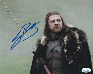 Sean Bean Game of Thrones Signed Autograph 8x10 Photo ACOA #7 - Outlaw Hobbies Authentic Autographs