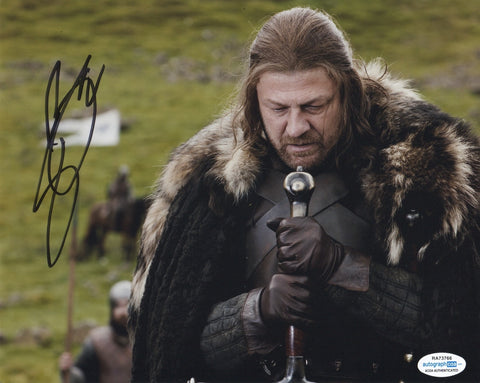 Sean Bean Game of Thrones Signed Autograph 8x10 Photo ACOA #8 - Outlaw Hobbies Authentic Autographs