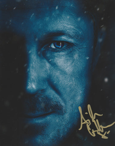 Aidan Gillen Game of Thrones Signed Autograph 8x10 Photo - Outlaw Hobbies Authentic Autographs