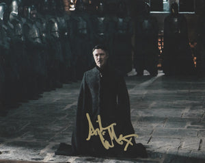 Aidan Gillen Game of Thrones Signed Autograph 8x10 Photo #2