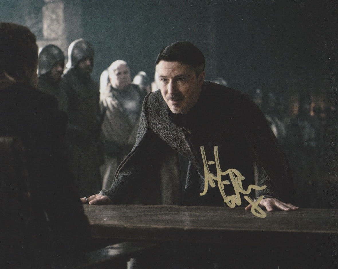 Aidan Gillen Game of Thrones Signed Autograph 8x10 Photo #4