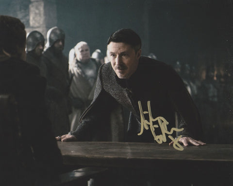 Aidan Gillen Game of Thrones Signed Autograph 8x10 Photo #4 - Outlaw Hobbies Authentic Autographs