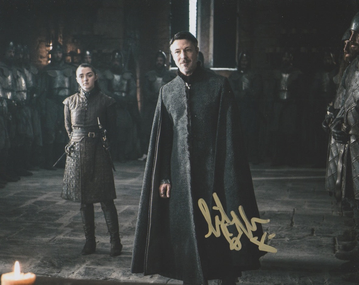 Aidan Gillen Game of Thrones Signed Autograph 8x10 Photo #5