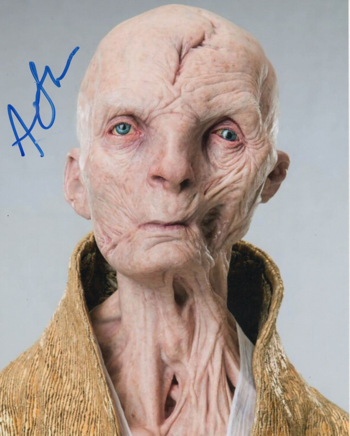 Andy Serkis Star Wars Signed Autograph 8x10 Photo - Outlaw Hobbies Authentic Autographs