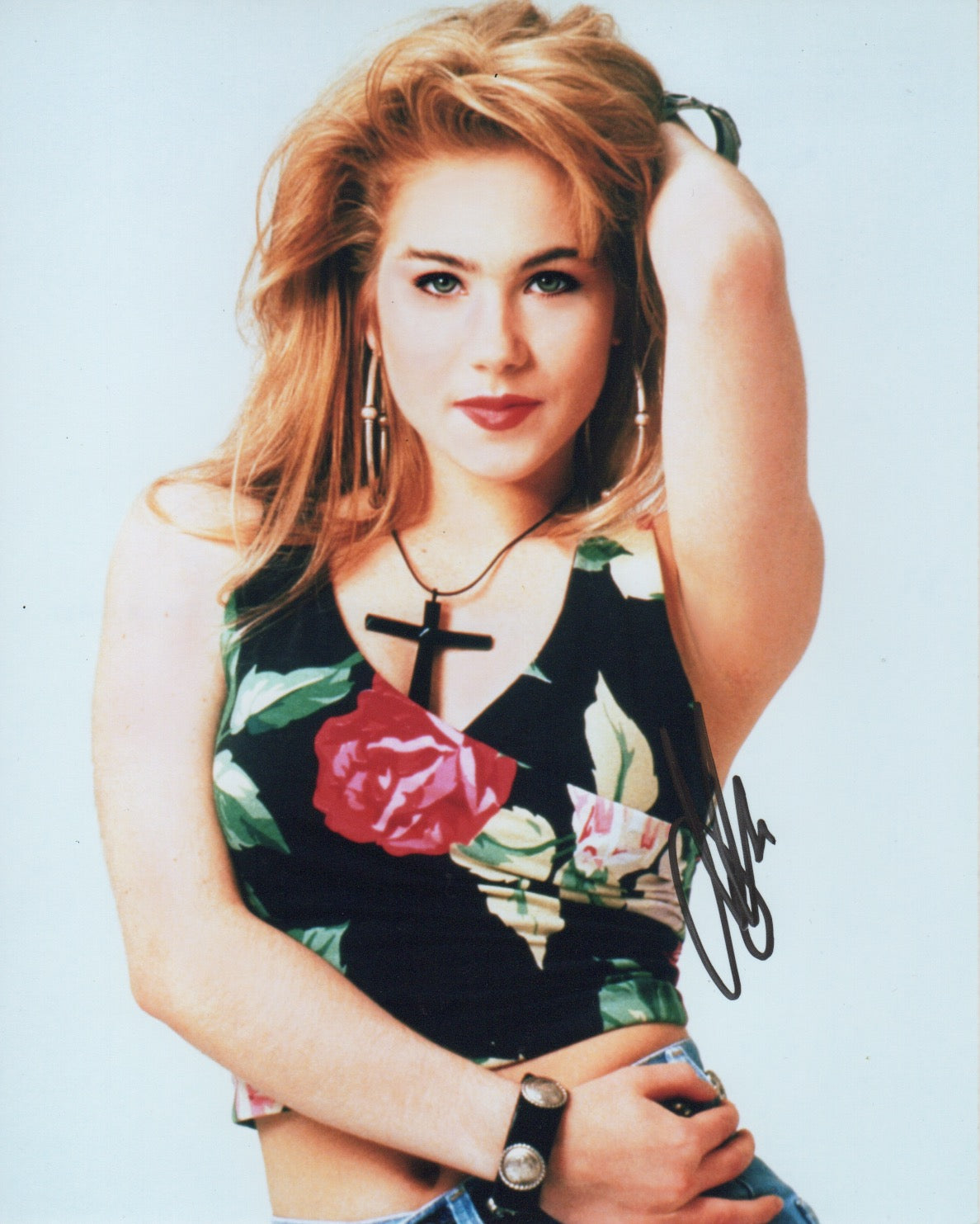 Christina Applegate Sexy Signed Autograph 8x10 Photo #3