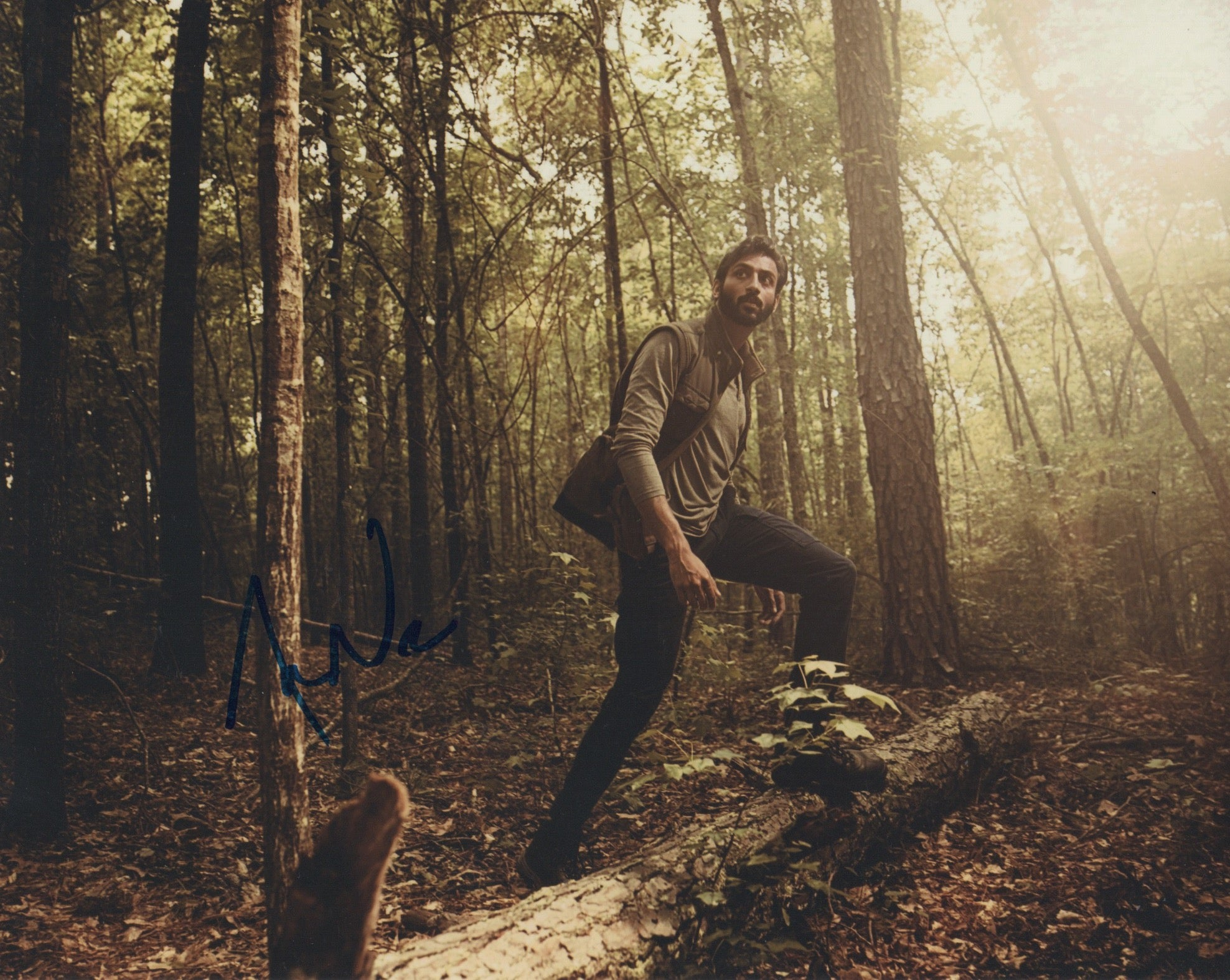 Avi Nash Walking Dead Signed Autograph 8x10 Photo - Outlaw Hobbies Authentic Autographs
