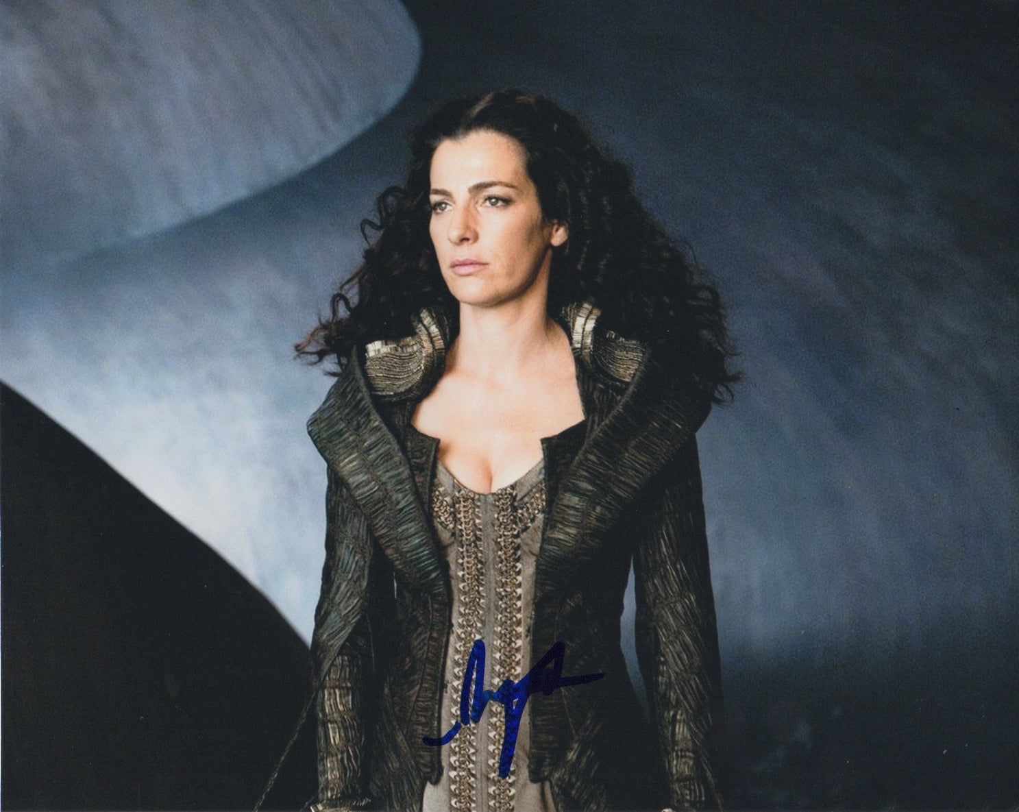 Ayelet Zurer Man of Steel Signed Autograph 8x10 Photo - Outlaw Hobbies Authentic Autographs