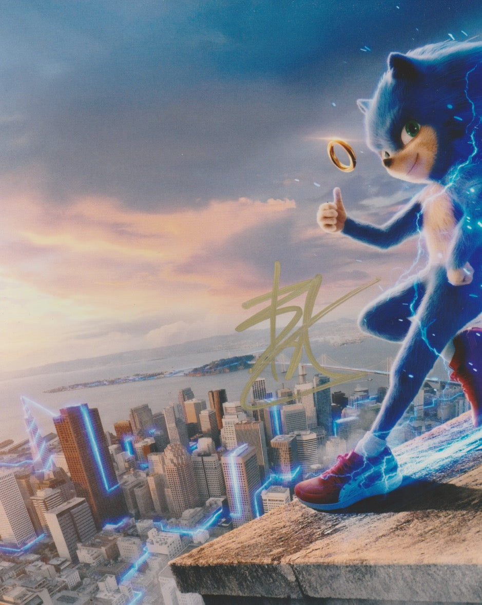 Ben Schwartz Sonic the Hedgehog Signed Autograph 8x10 Photo #5