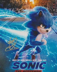 Ben Schwartz Sonic the Hedgehog Signed Autograph 8x10 Photo #6