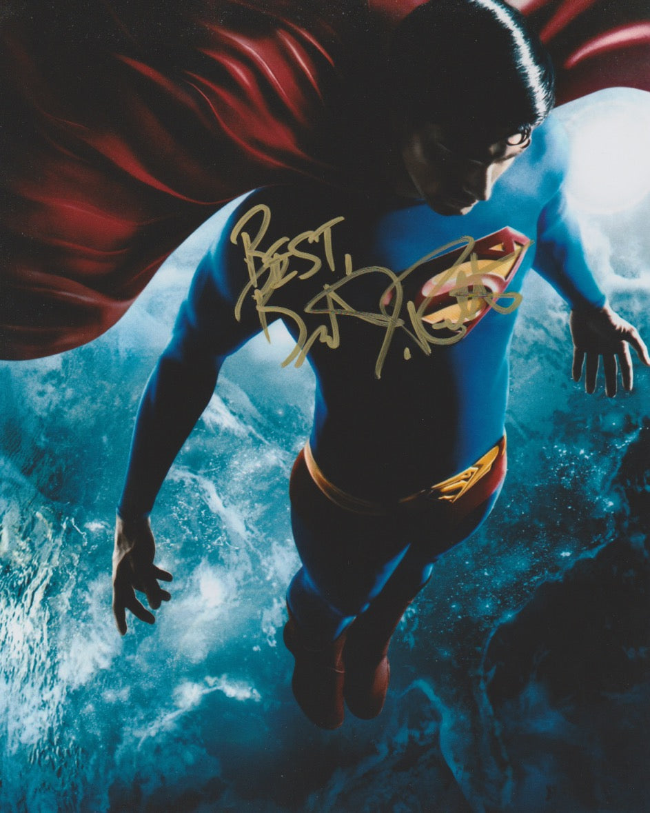 Brandon Routh Superman Signed Autograph 8x10 Photo #4