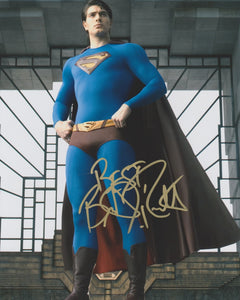 Brandon Routh Superman Signed Autograph 8x10 Photo