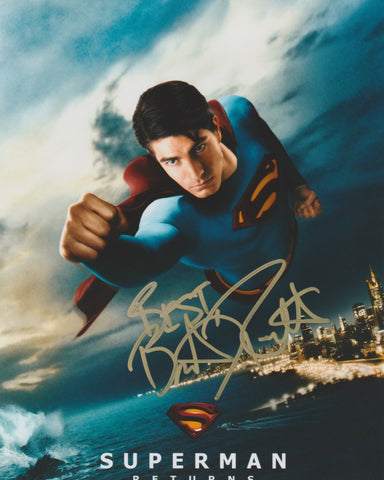 Brandon Routh Superman Signed Autograph 8x10 Photo #2 - Outlaw Hobbies Authentic Autographs